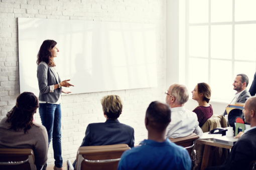 Conference Training Planning Learning Coaching Business Concept